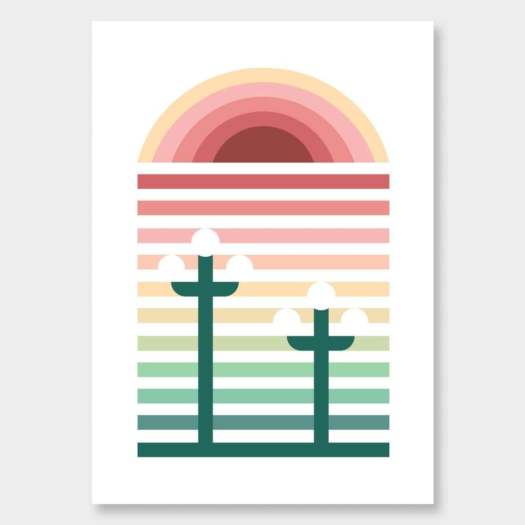 Napier Scandi Art Print by OSLO