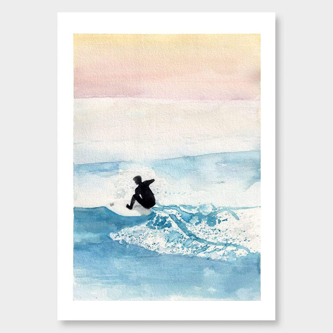 Ocean Hues Art Print by Laura Feller
