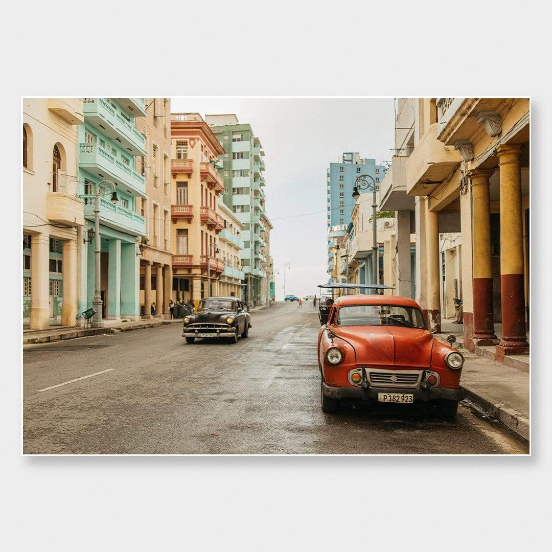 Pastels in Havana Photographic Print by Phoebe Boyes