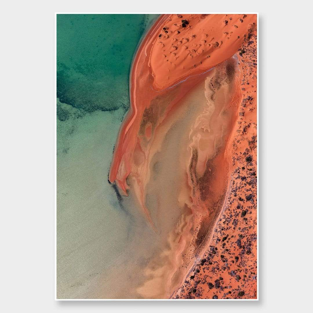 Red Earth Photographic Print by Emma Willetts