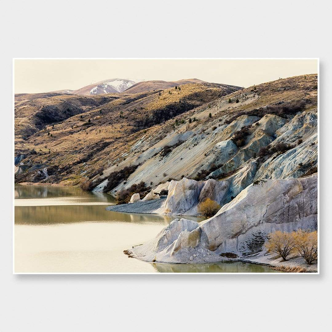 Saint Bathans - Blue Lake Photographic Print by Emma Willetts