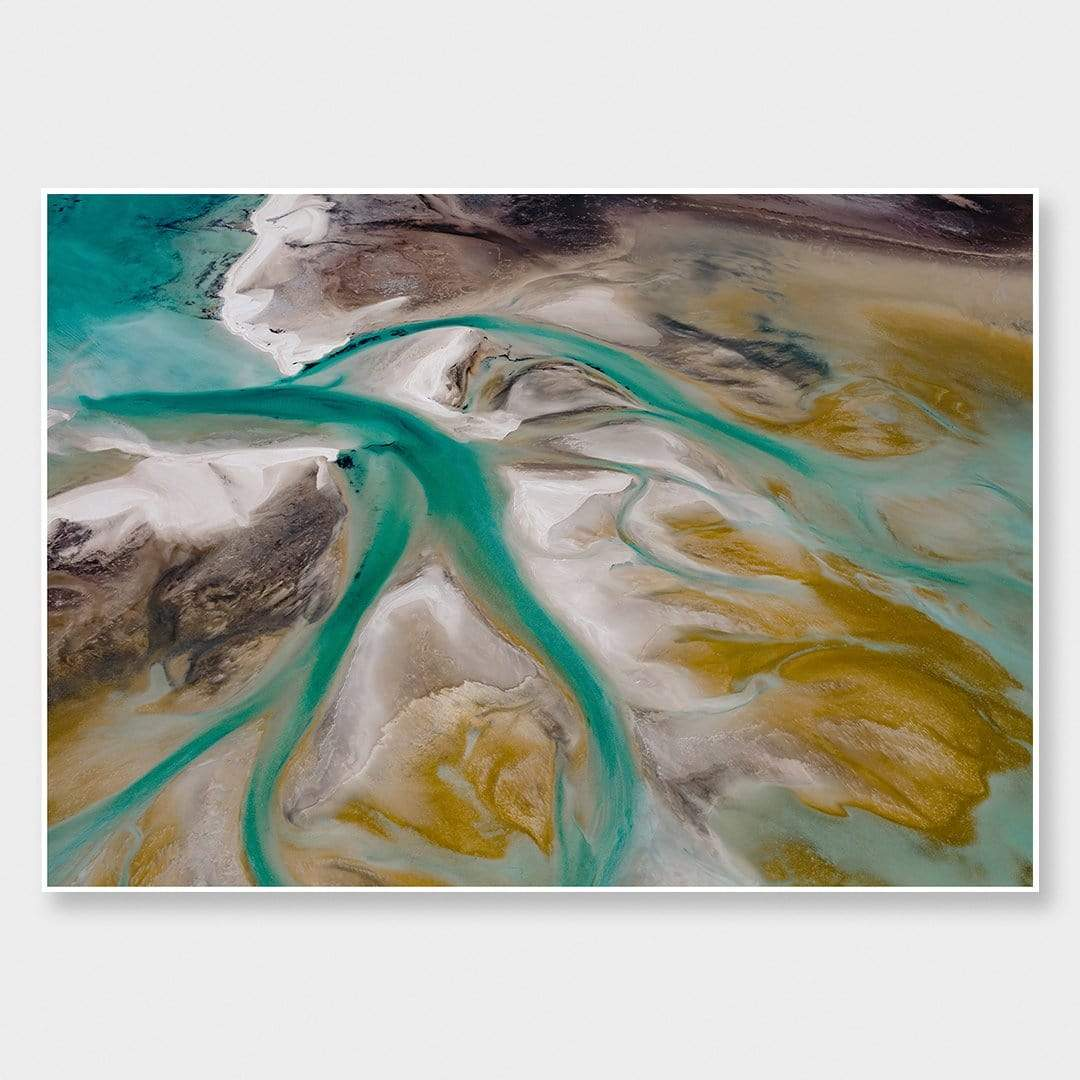 Shark Bay Veins Photographic Print by Emma Willetts