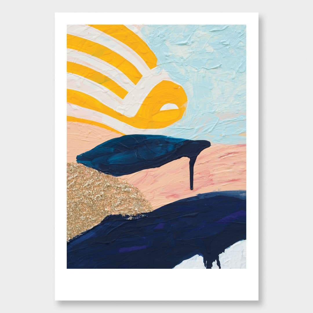 A New Day Come Art Print by Alice Berry
