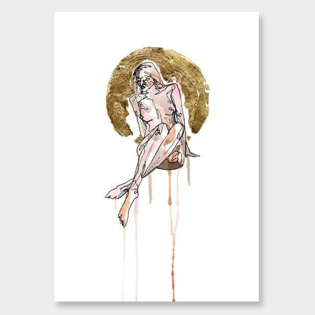 Bares It All Art Print by Makus Art