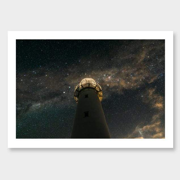 Beacon – Tiritiri Matangi Island Photographic Print by Mike Mackinven