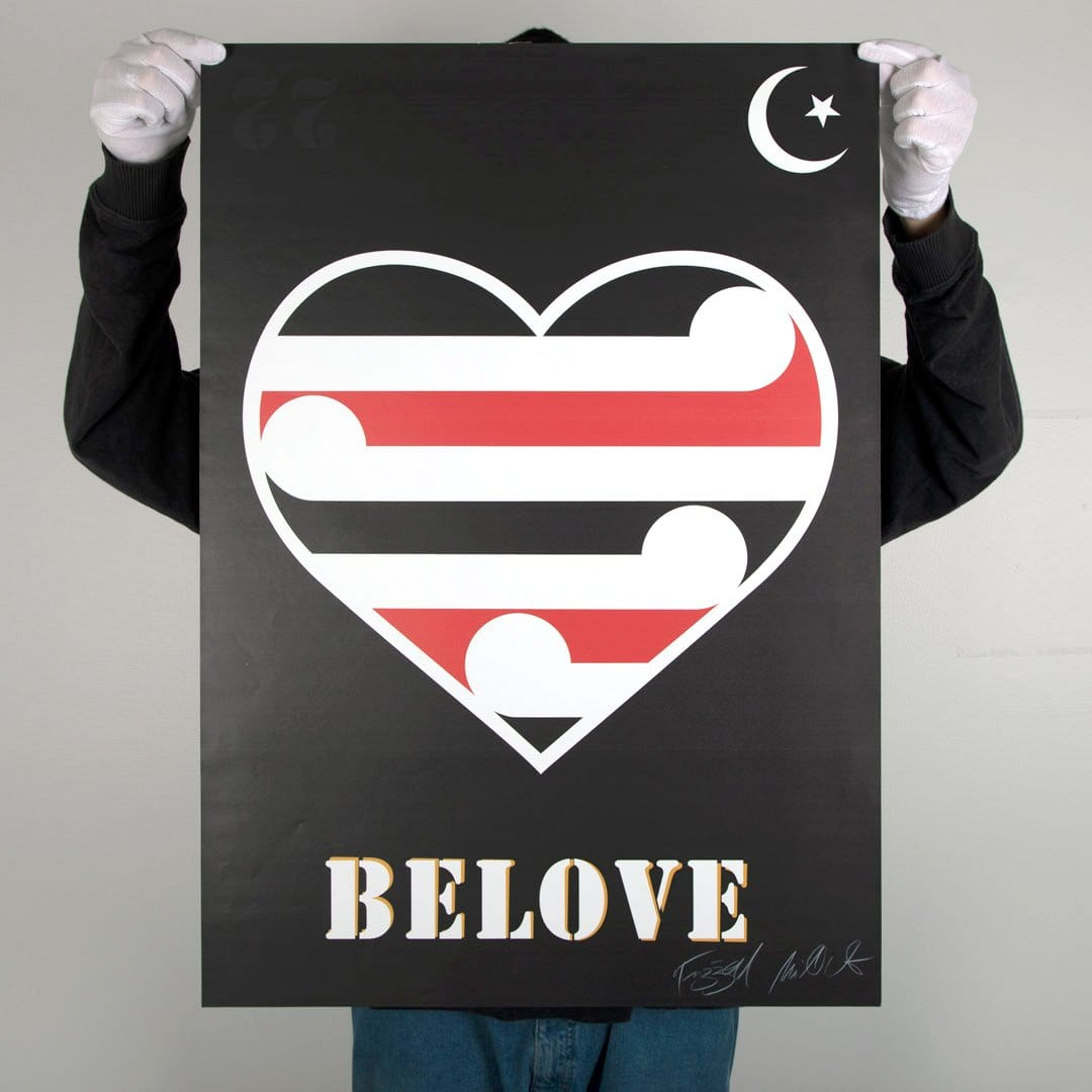 Belove Poster Print by Weston Frizzell