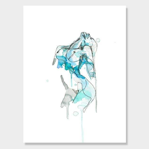 Breathe Art Print by Makus Art