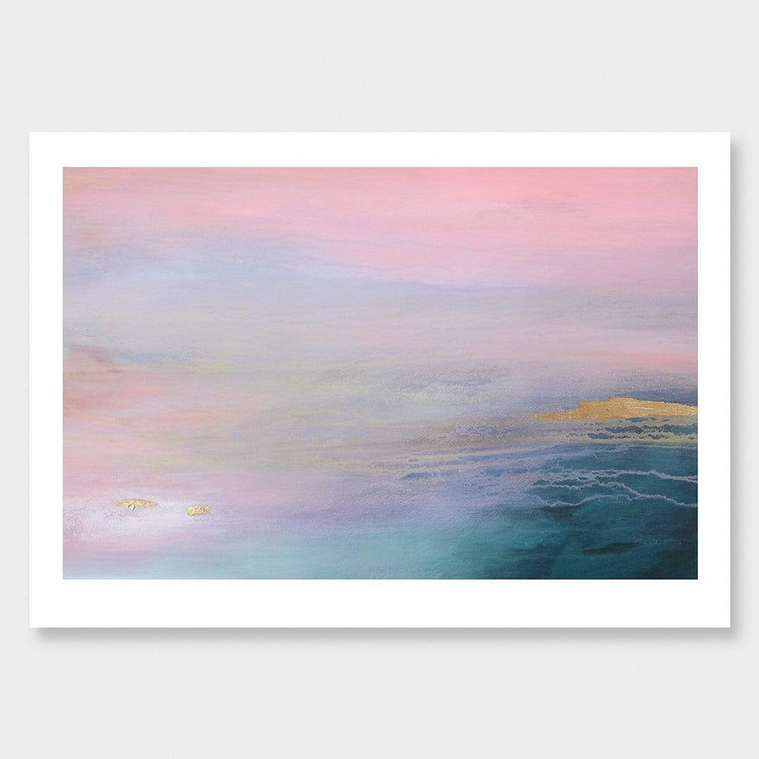 Breathe II Art Print by Lucy Davidson
