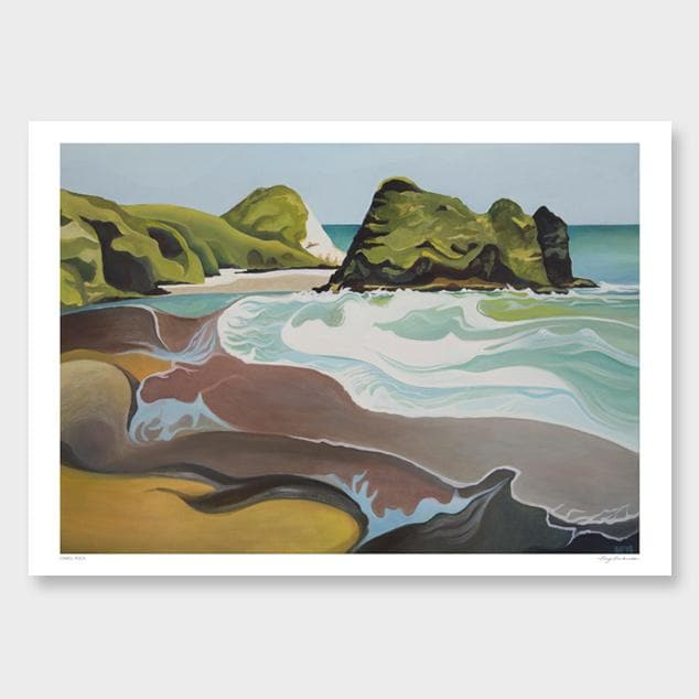 Camel Rock Art Print by Guy Harkness