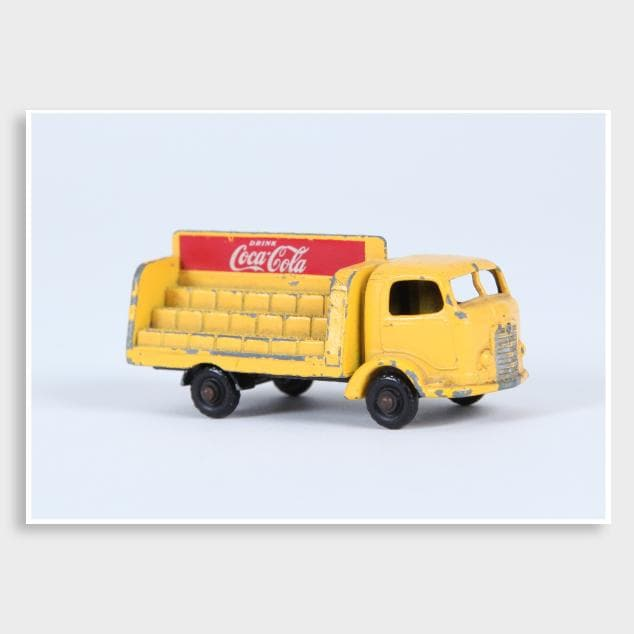 Coke Truck Photographic Art Print by Elliot Alexander