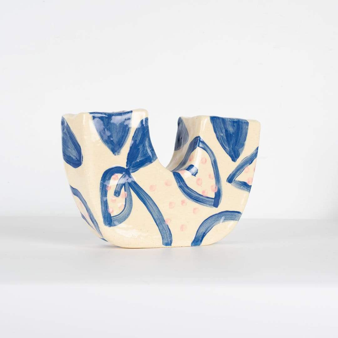 U Cutie Ceramic Vase No. 4 by Alice Berry