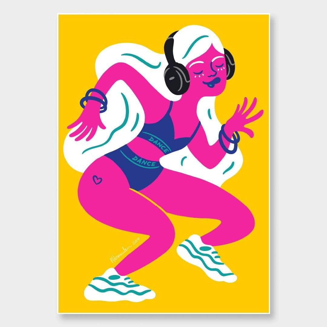 Dance Art Print by Natasha Vermeulen