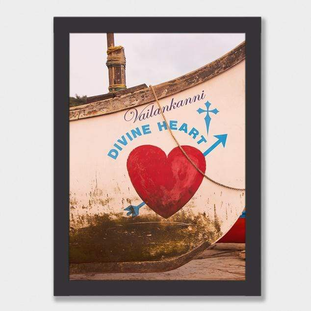 Divine Heart Photographic Art Print by Kate Alexander
