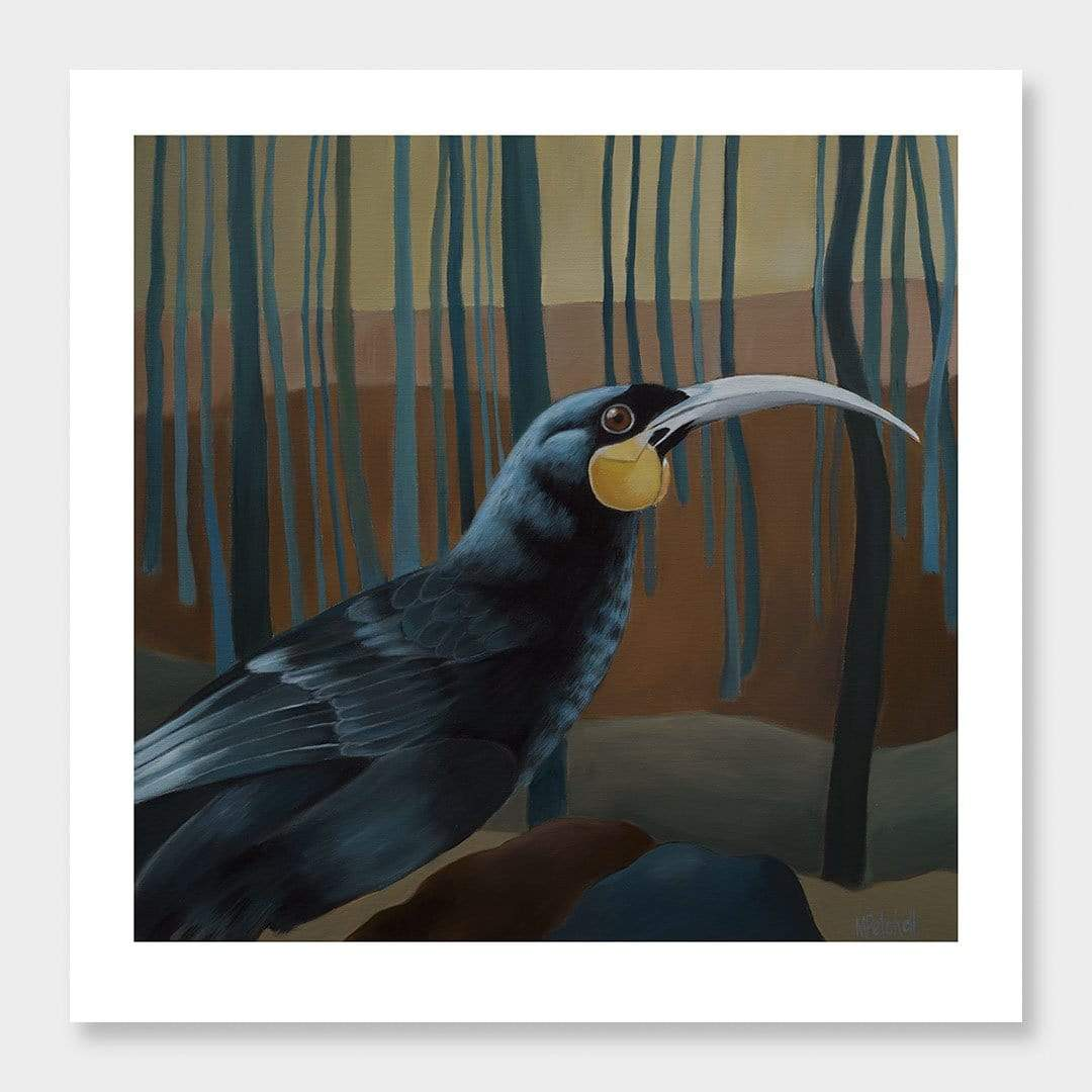 Douglas Huia Art Print by Margaret Petchell