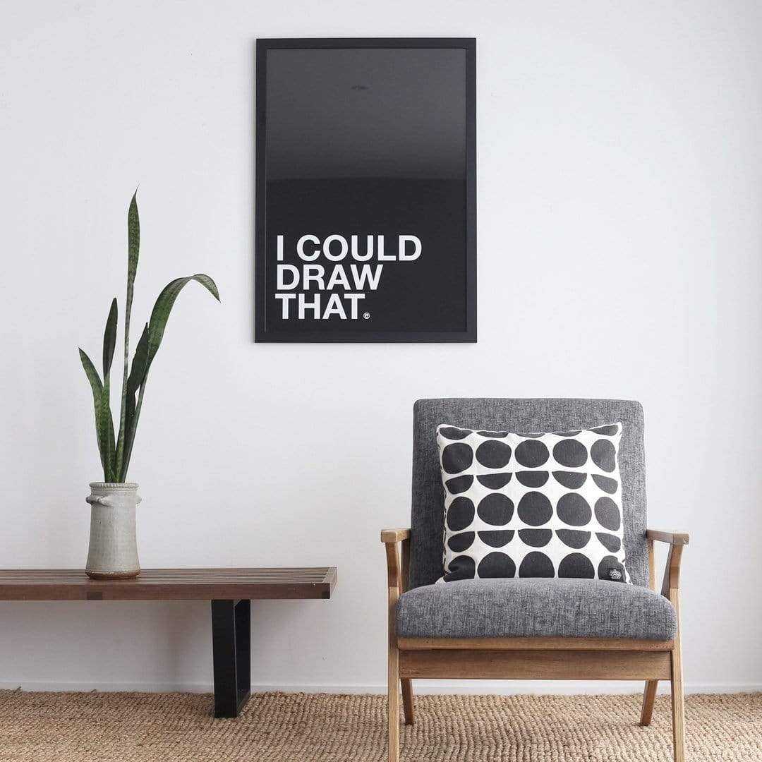 I Could Draw That Art Print by endemicworld