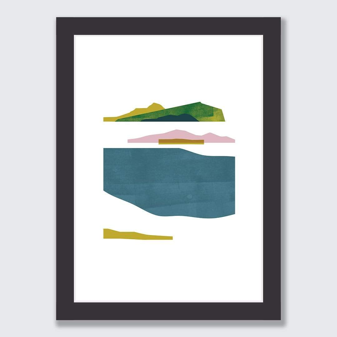Fragments Art Print by Sarah Parkinson