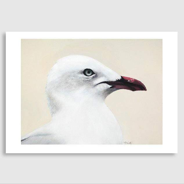 Gallileo Seagull Art Print by Margaret Petchell
