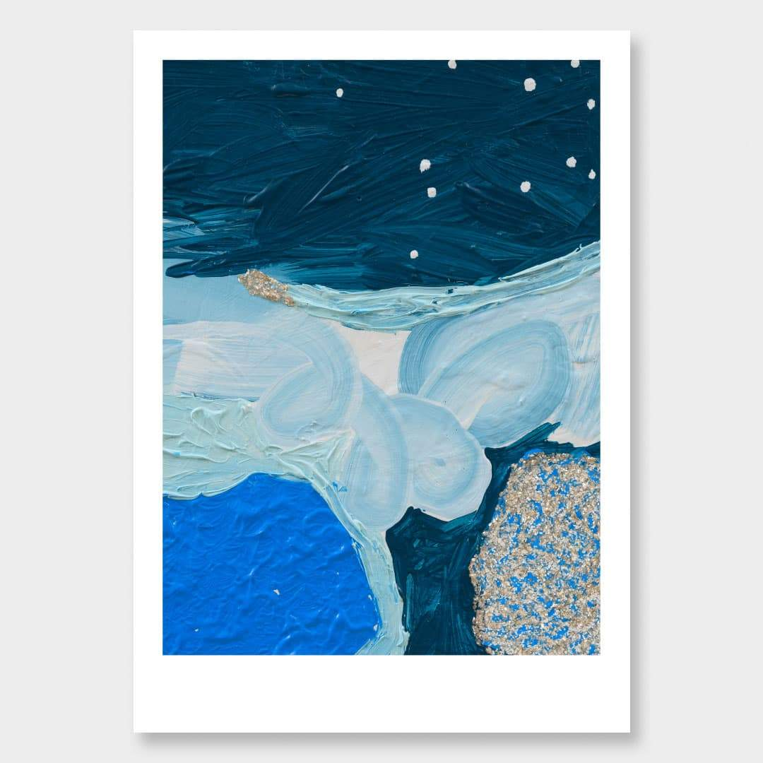 Glacial Art Print by Alice Berry