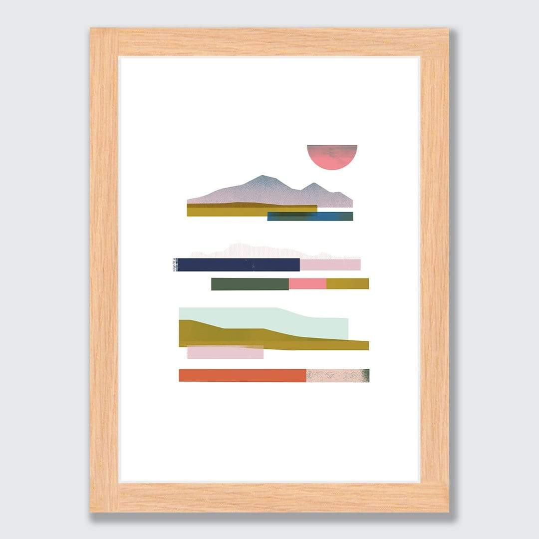 Harbour Crossing Art Print by Sarah Parkinson