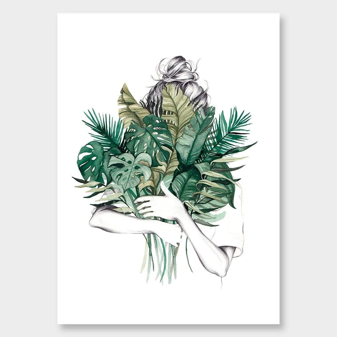 Hiding Art Print by Chloe Ruby