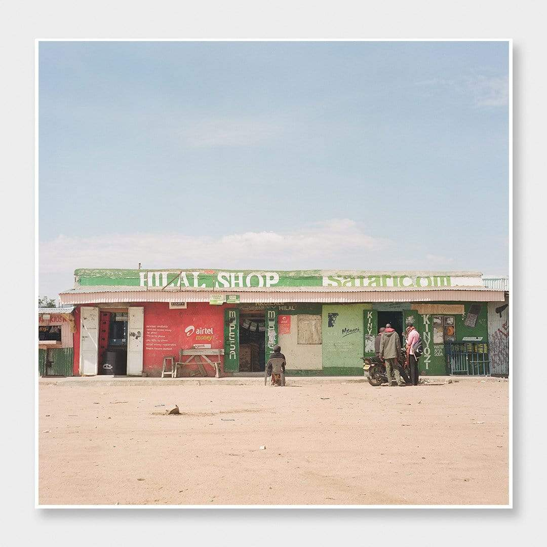 Hilal Shop Photographic Print by Si Moore