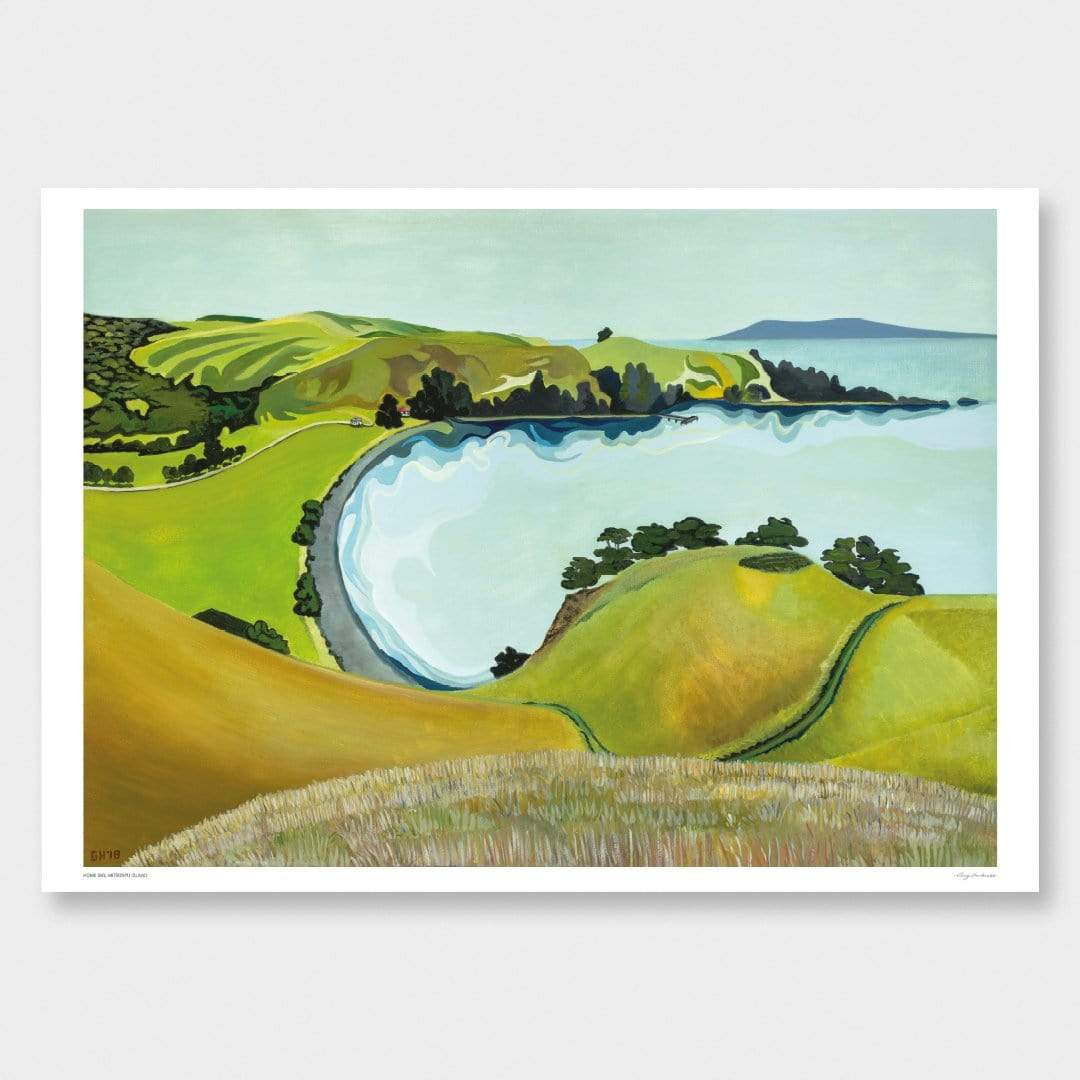 Home Bay Art Print by Guy Harkness