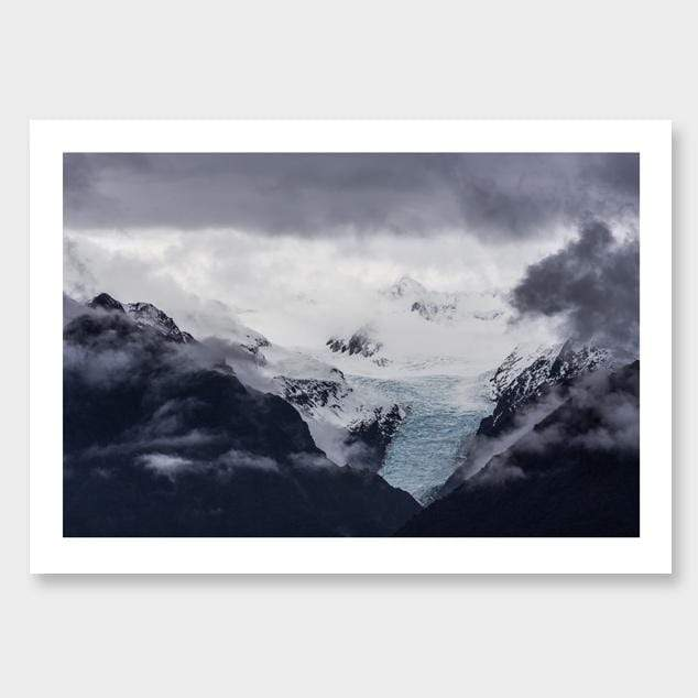 Ice Tongue – Fox Glacier Photographic Print by Mike Mackinven