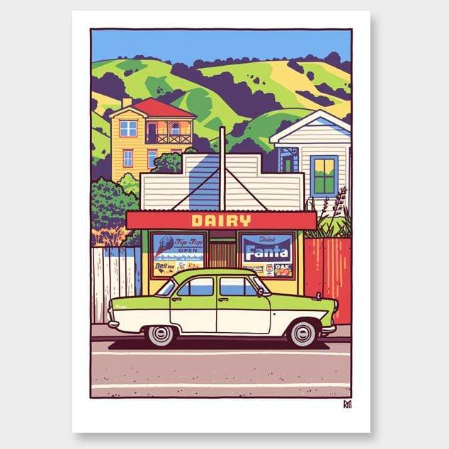 In The Summertime Art Print by Ross Murray