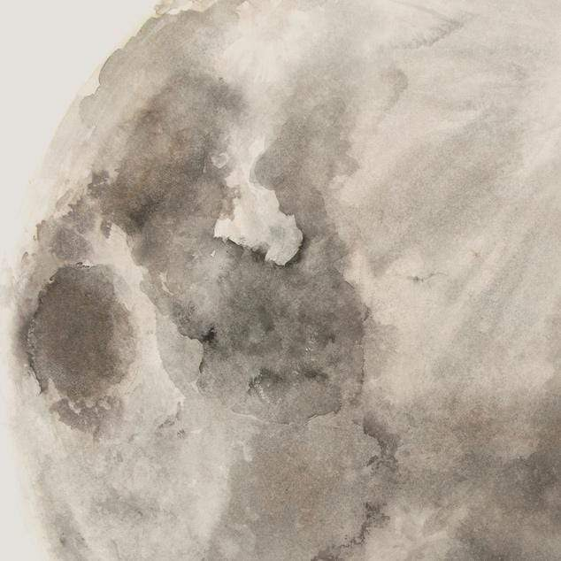 Ink Moon Art Print by George Sand Studio