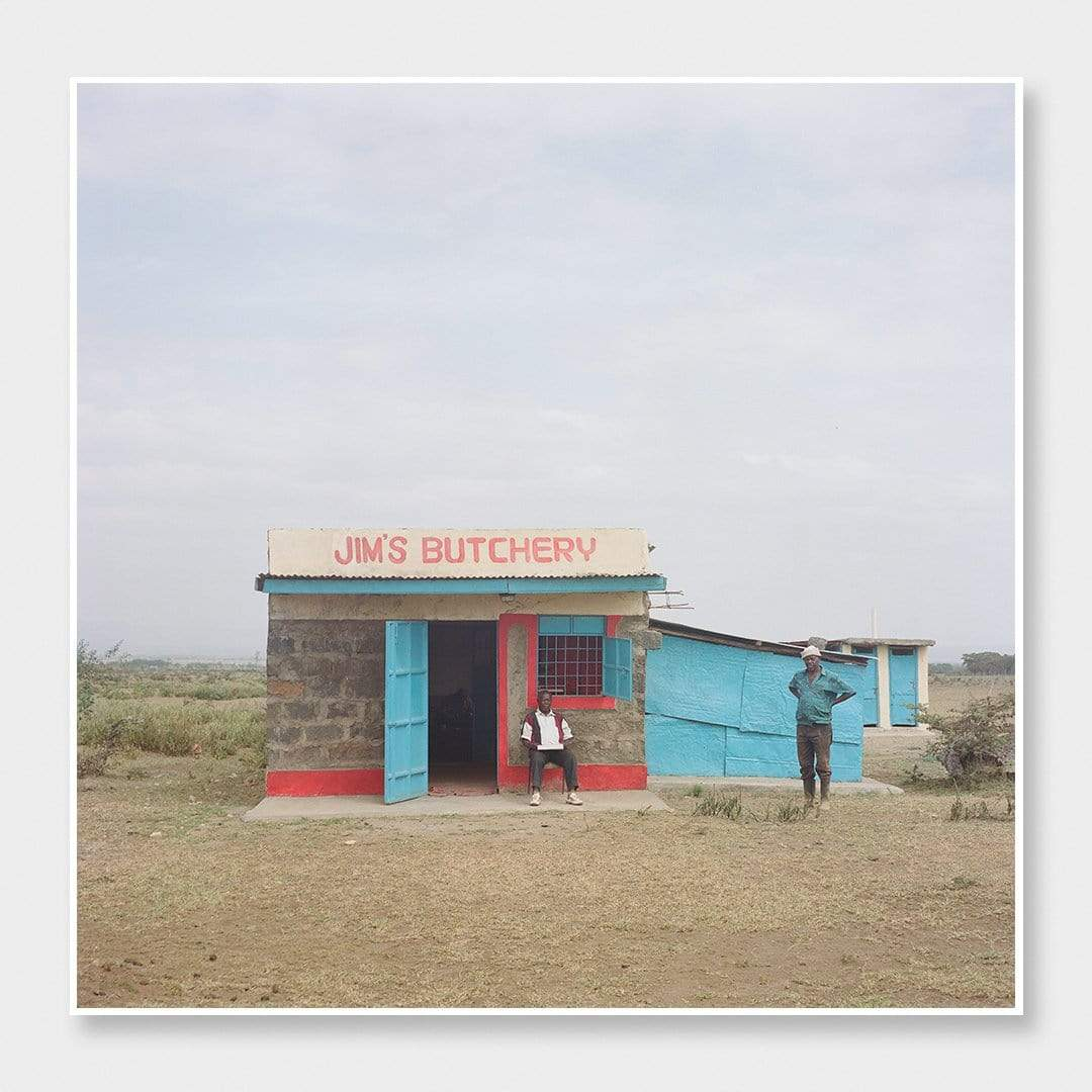 Jim's Butchery Photographic Print by Si Moore