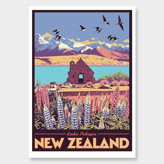 Lake Tekapo Art Print by Ross Murray