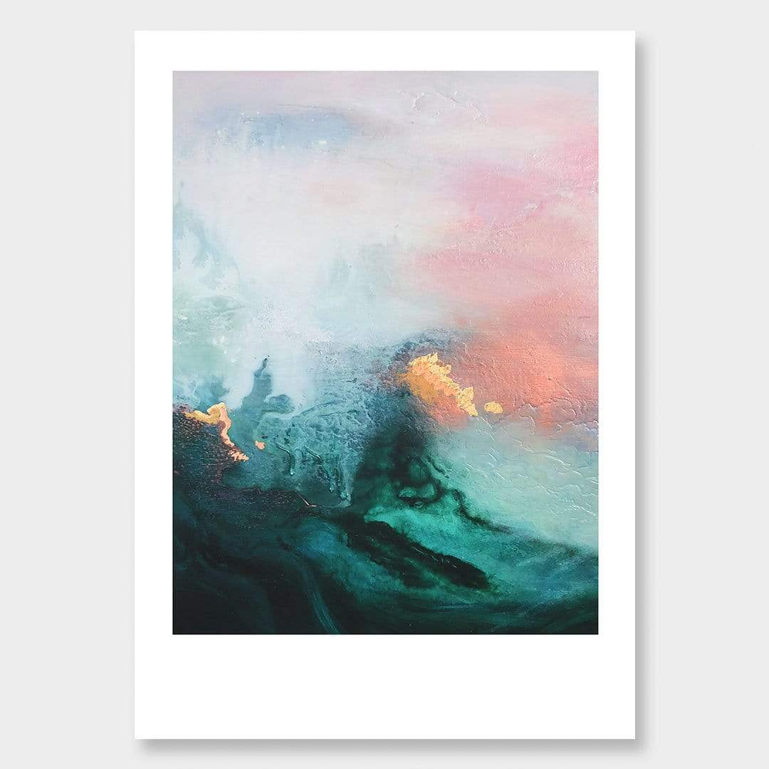 Late Light Art Print by Lucy Davidson