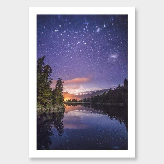 Magellanic Photographic Print by Mike Mackinven