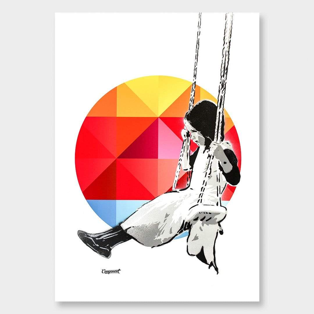Margo Geo Art Print by Component