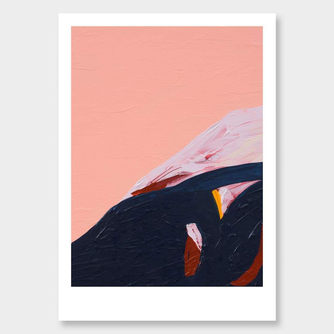 Mauao Art Print by Alice Berry