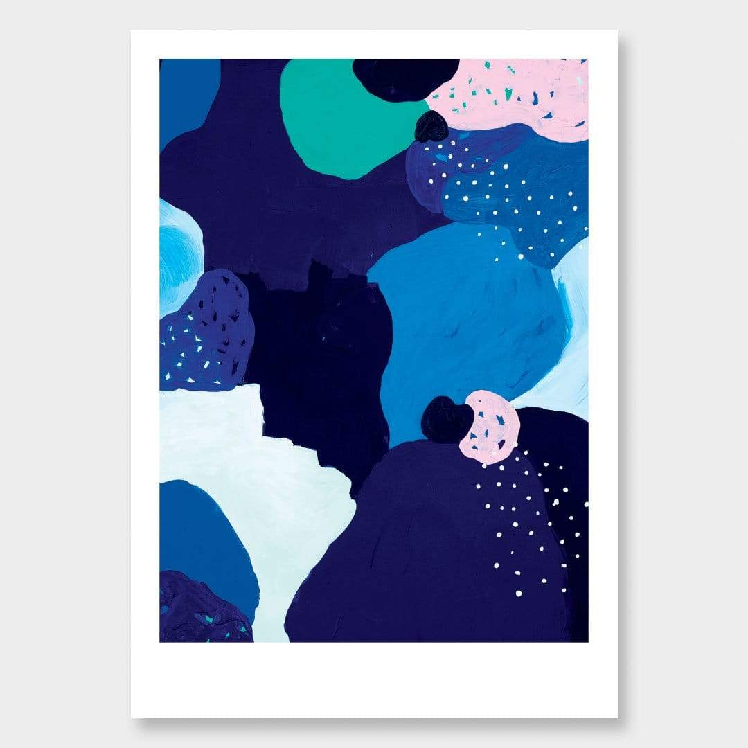 Midnight Garden Art Print by Alice Berry