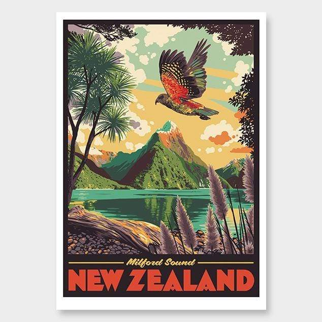 Milford Sound Art Print by Ross Murray