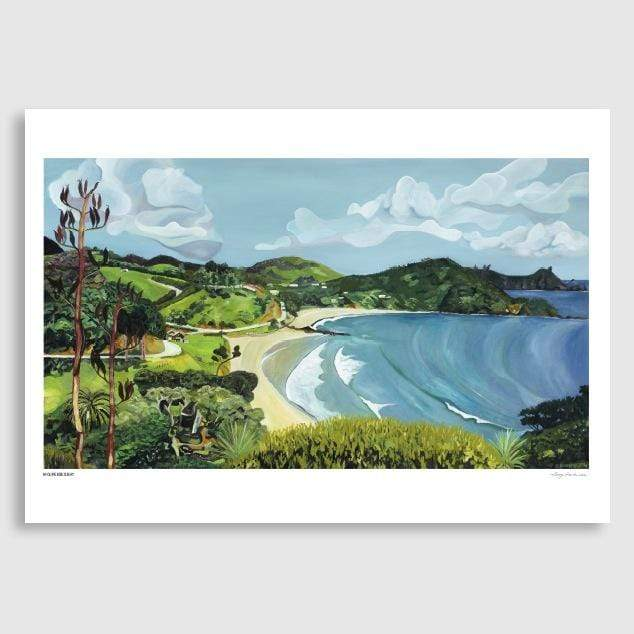 Moureeses Bay Art Print by Guy Harkness