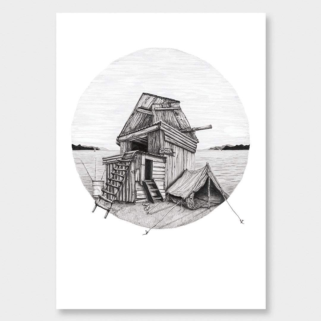 No WiFi Art Print by Charlotte Hawley