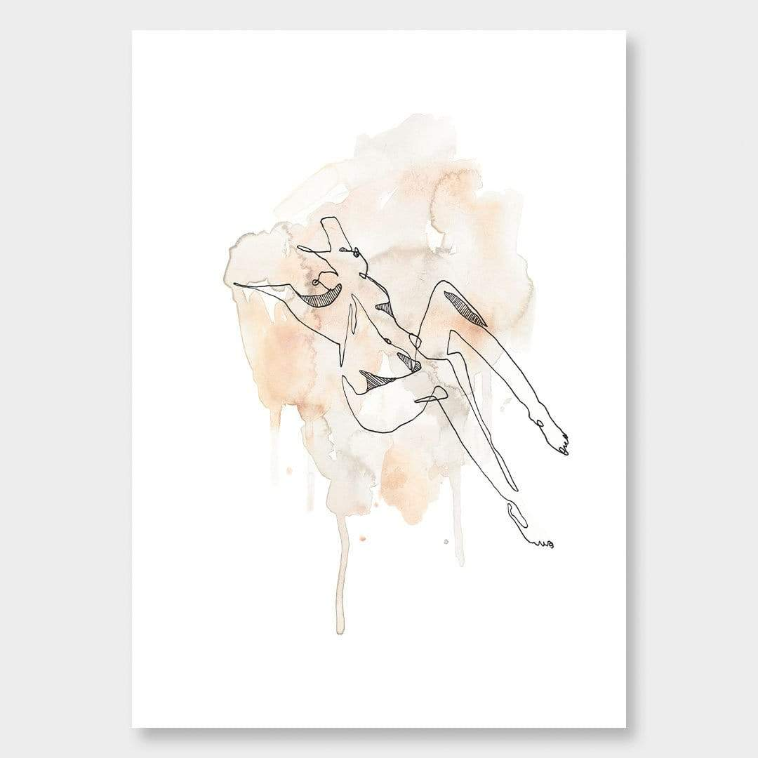 Nude 3 Art Print by Makus Art