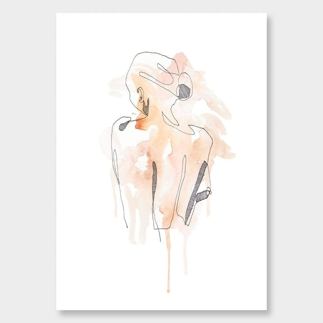Nude 4 Art Print by Makus Art