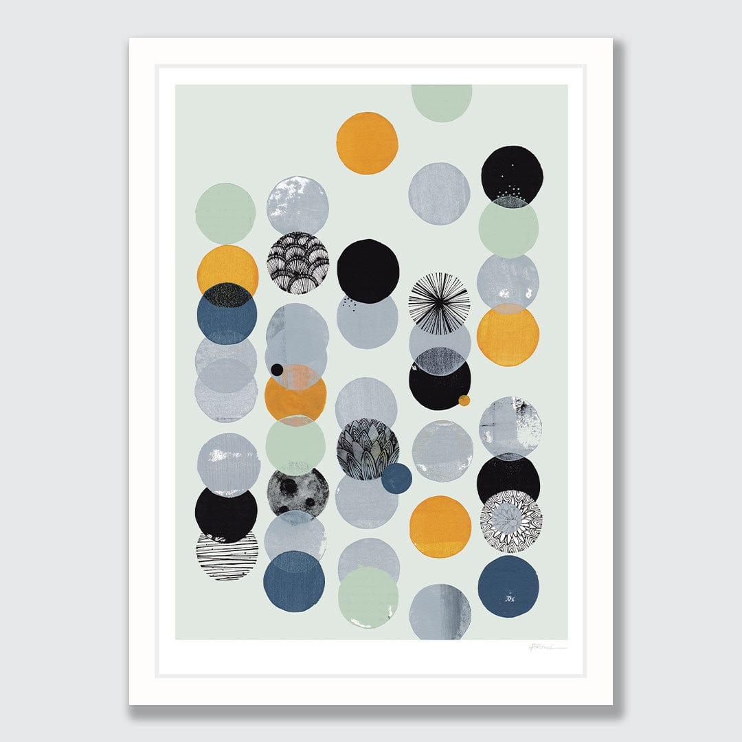 Odds Ends and Evens Art Print by Holly Roach