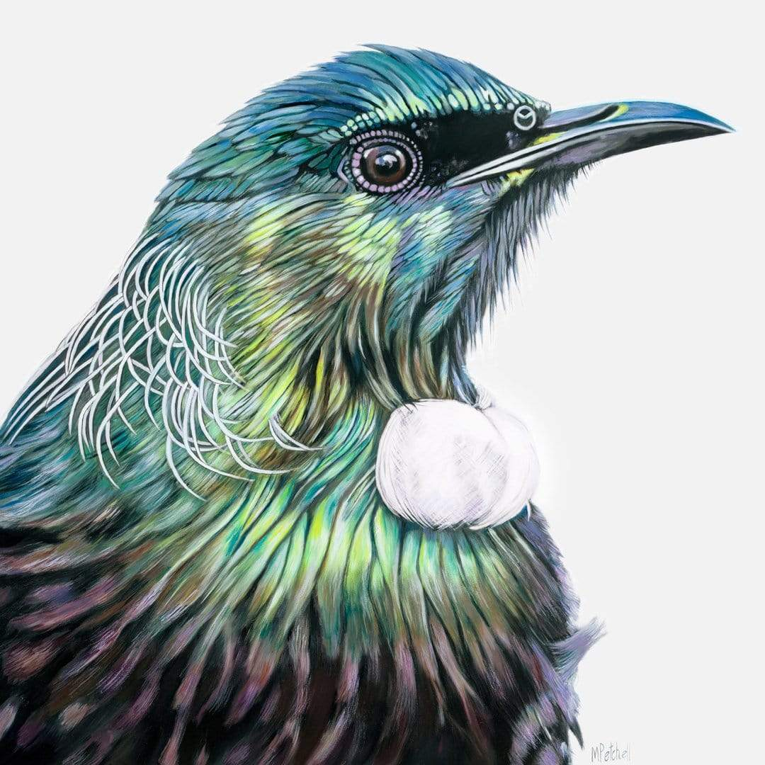 Ossie Tui Art Print by Margaret Petchell