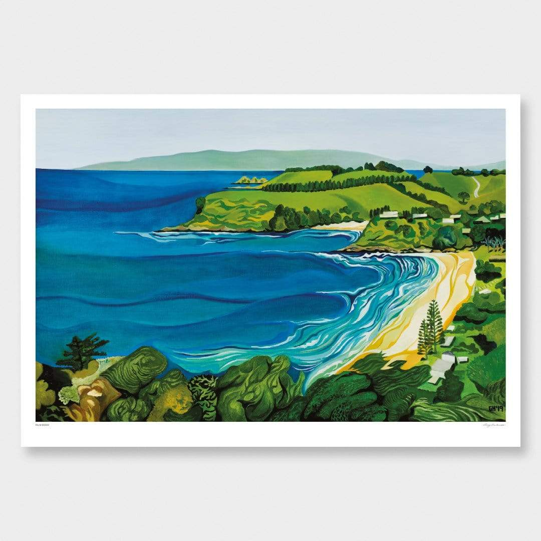 Palm Beach Art Print by Guy Harkness