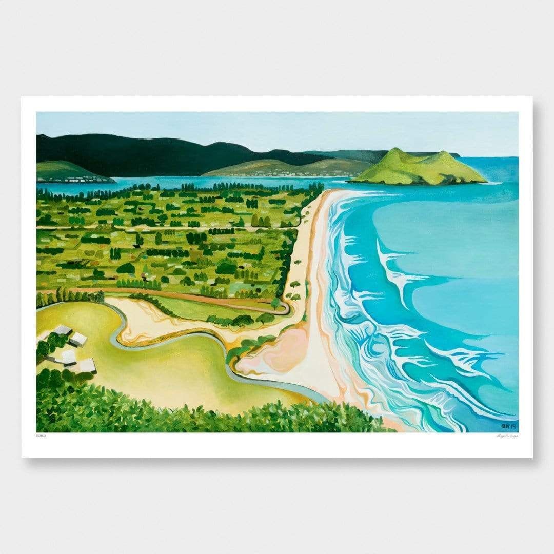 Pauanui Art Print by Guy Harkness