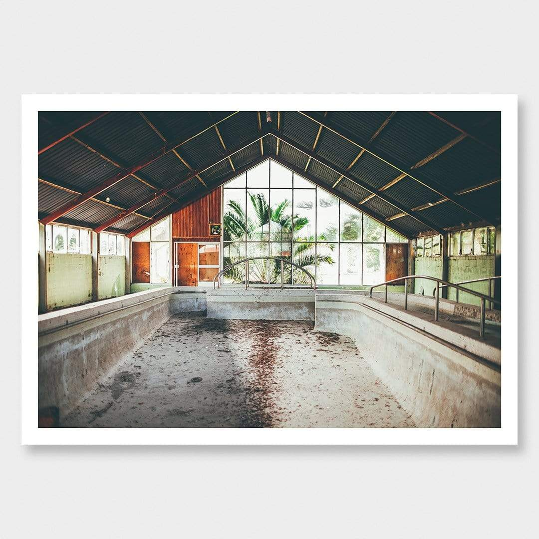 Pool of Dust Photographic Print by Curtis Bunker