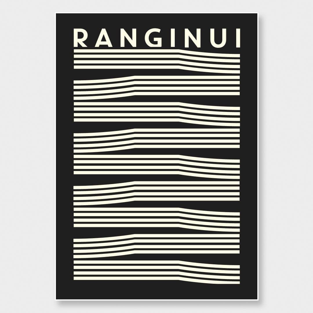 Ranginui Art Print by OSLO