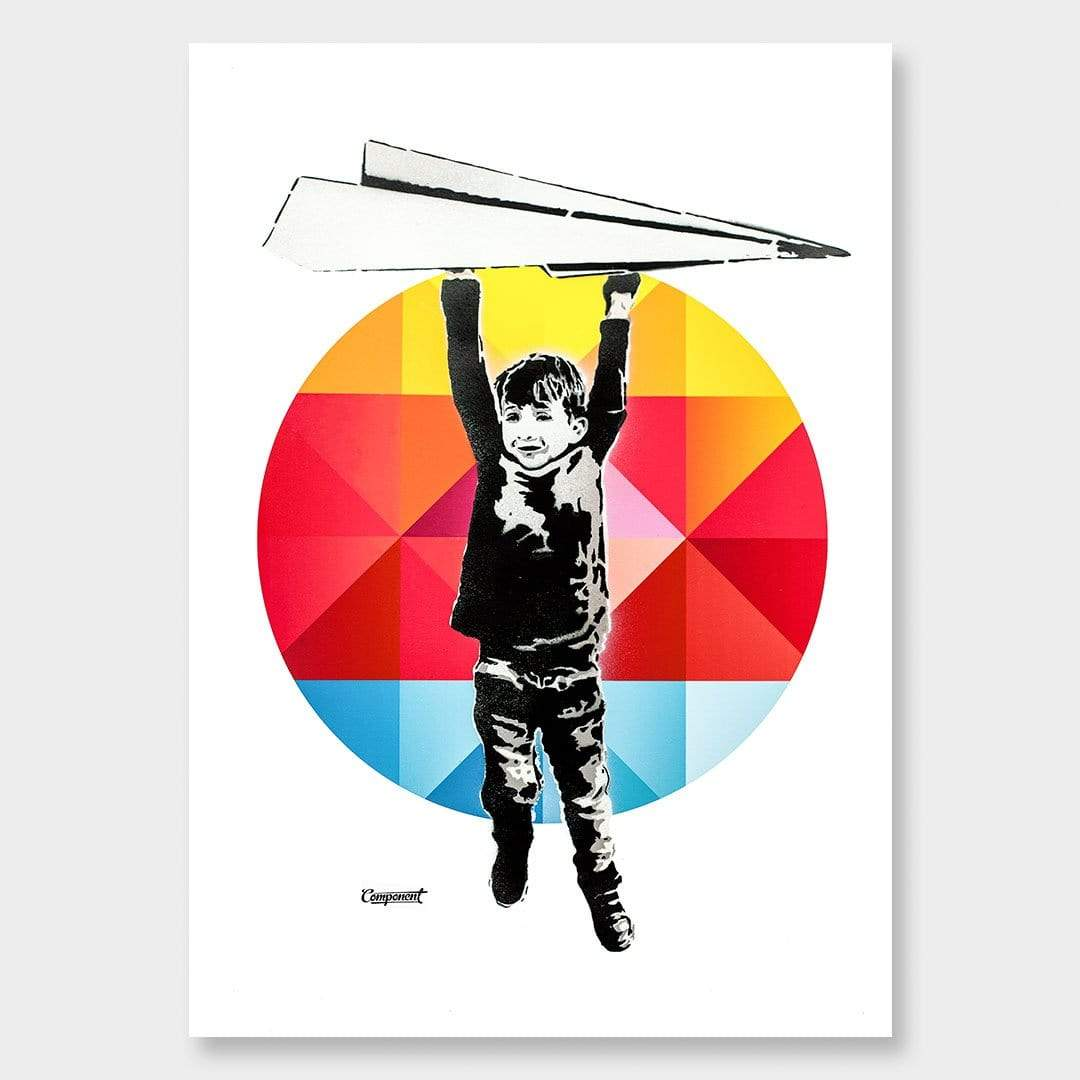 Rocco Geo Art Print by Component