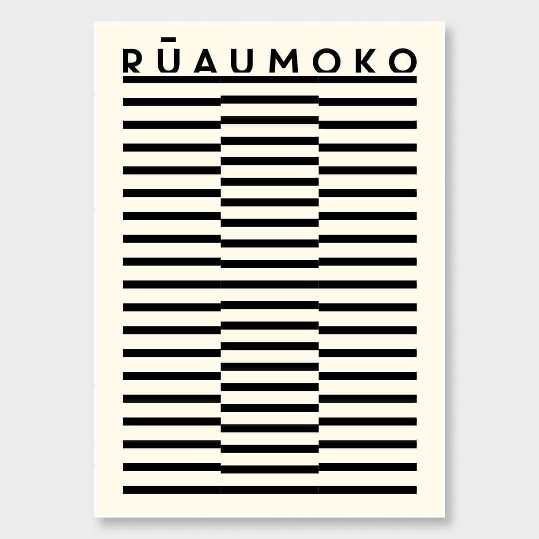 Rūaumoko Art Print by OSLO