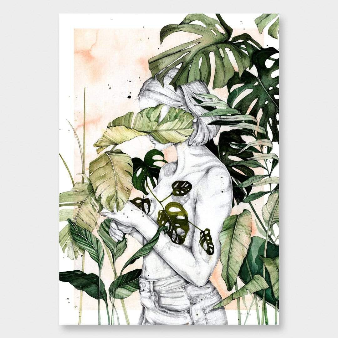 Sanctuary Art Print by Chloe Ruby